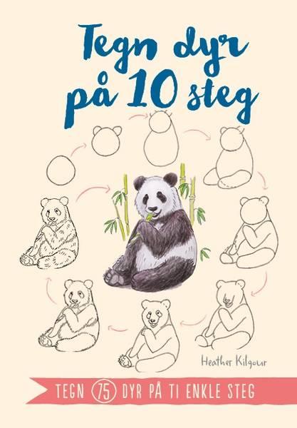 Bilde av Tegn dyr på 10 steg