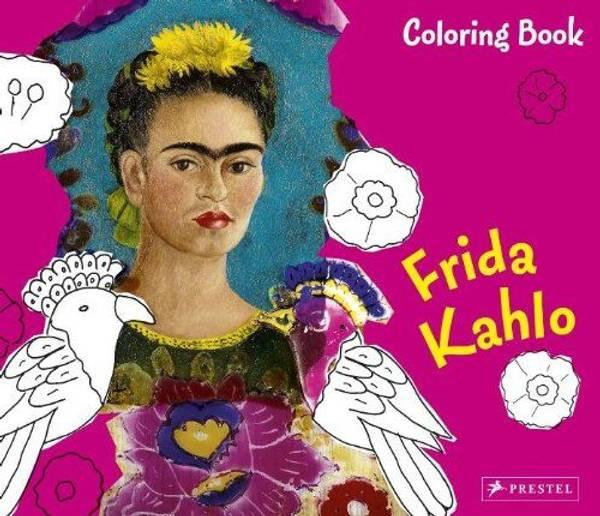 Bilde av Coloring Book Frida Kahlo